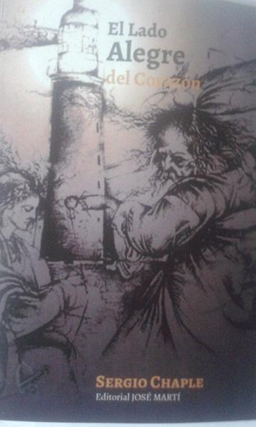 portada del libro El lado alegre del corazón de Sergio Chaple