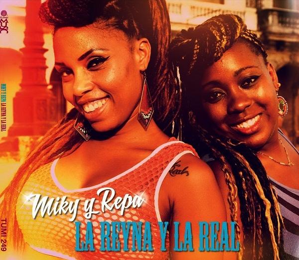 foto de las raperas cubanas La Reyna y La Real
