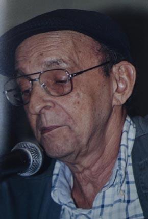 foto del saxofonista y escritor cubano Leonardo Acosta