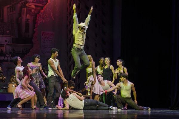 foto de Derrumbe, de Miguel Altunaga; interpretada por Leticia Silva y Carlos Luis