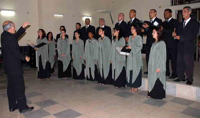 foto del Coro de Cámara de Matanzas
