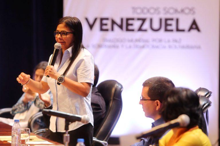 foto de Delcy Rodríguez