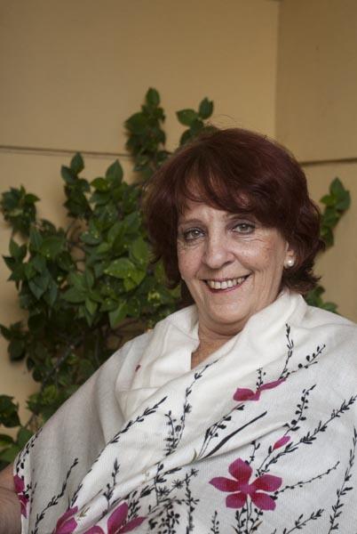foto de la escritora cubana Margarita Mateo