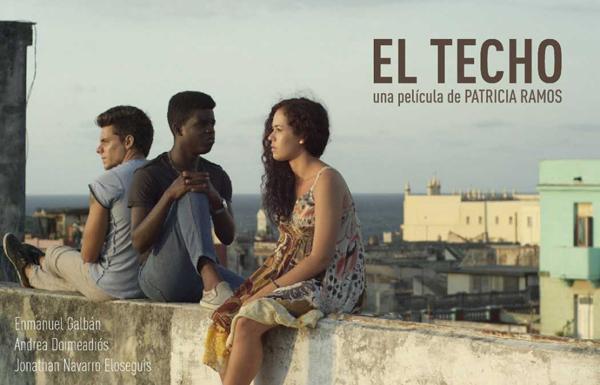 foto de la película cubana el techo
