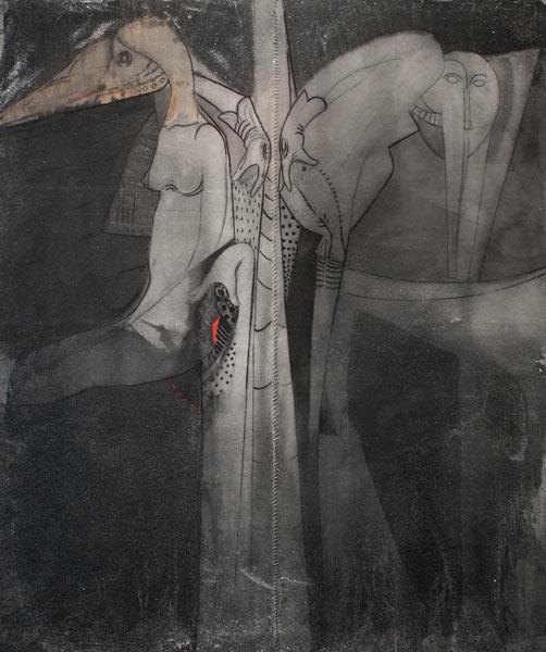 exposición Levitación del artista de la plástica Moisés Finalé