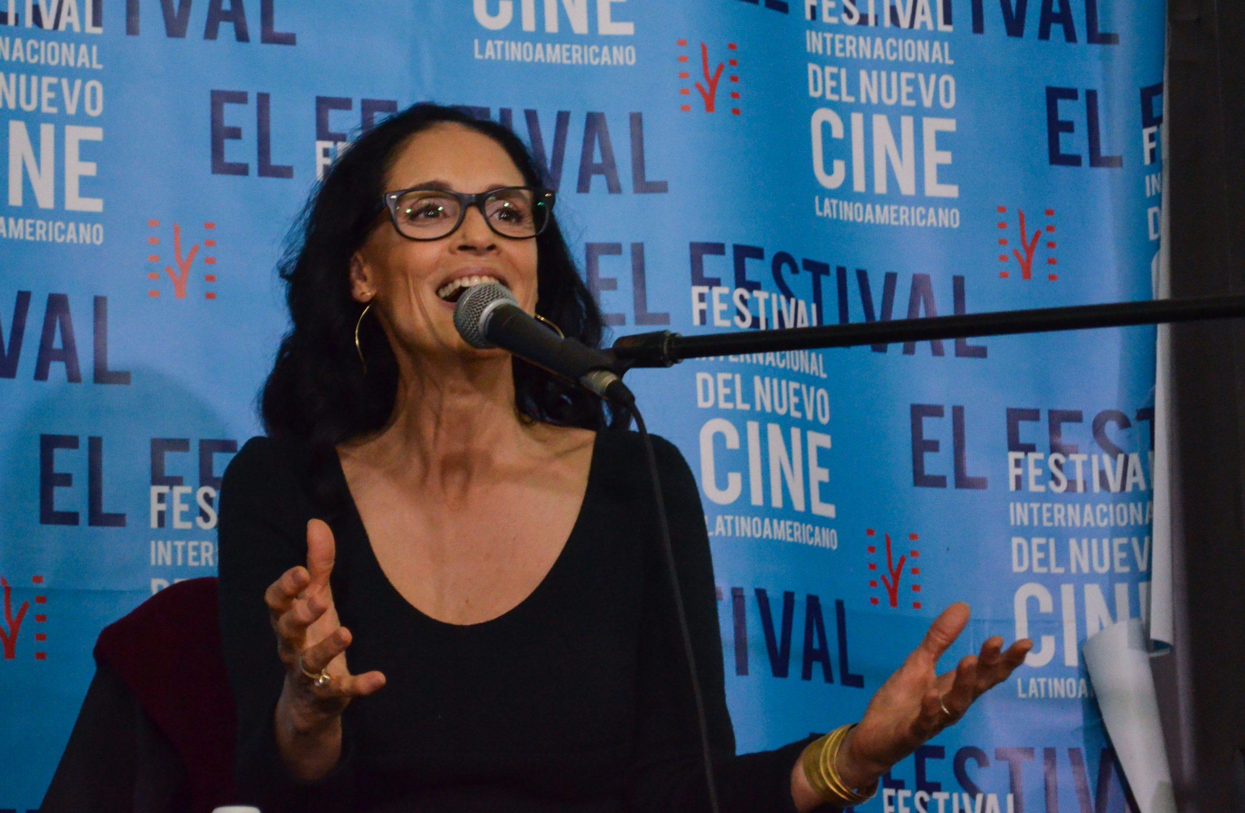 actriz brasileña Sônia Braga en el Festival del Nuevo Cine Latinoamericano