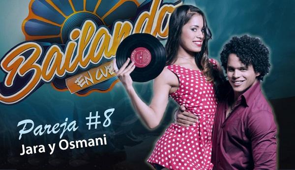 foto de la pareja ganadora de Bailando en Cuba