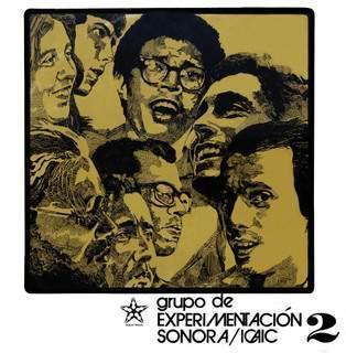 cartel del Grupo de Experimentación Sonora del ICAIC