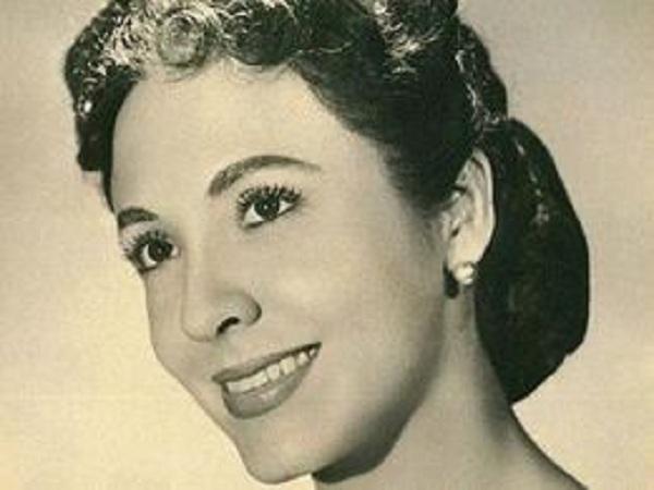 actriz cubana Gina Cabrera