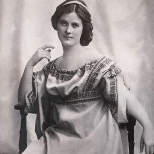 foto de la bailarina Isadora Duncan en La Habana