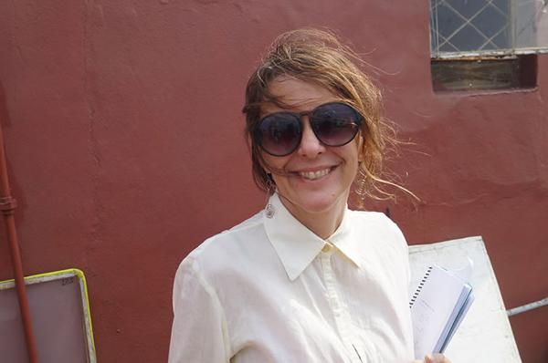 foto de la cineasta cubana Patricia Ramos