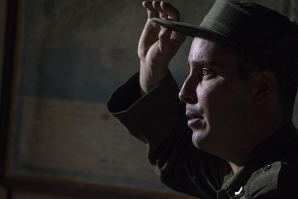 foto del actor cubano Rayssel Cruz