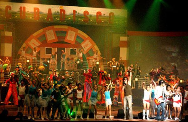 foto de la Gala de la Feria Internacional Cubadisco