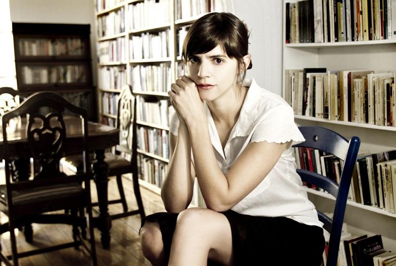foto de la escritora mexicana Valeria Luiselli