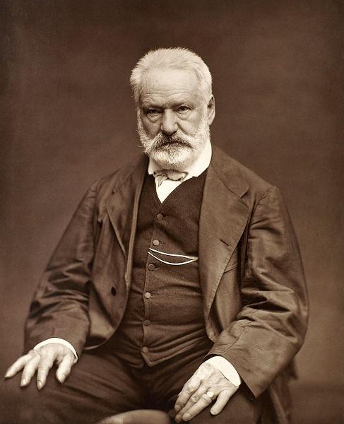 foto del escritor frances Víctor Hugo
