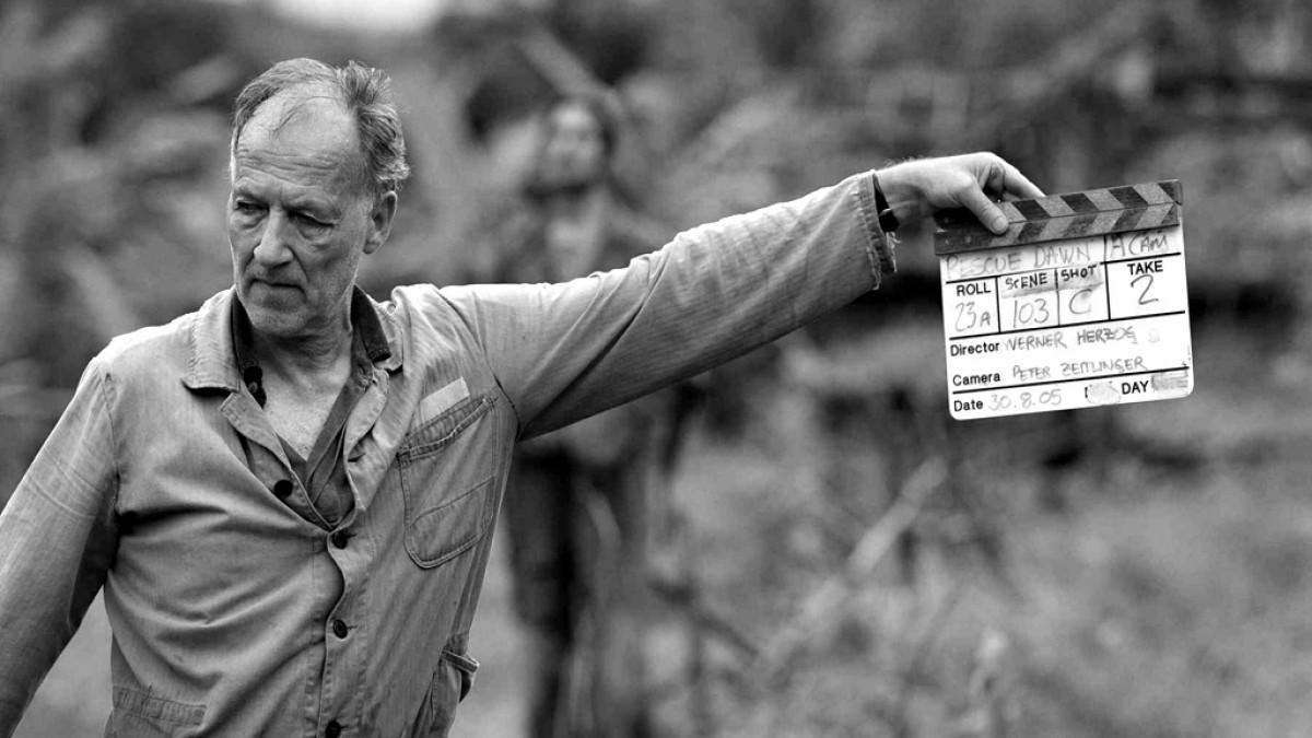 foto del cineasta alemán Werner Herzog